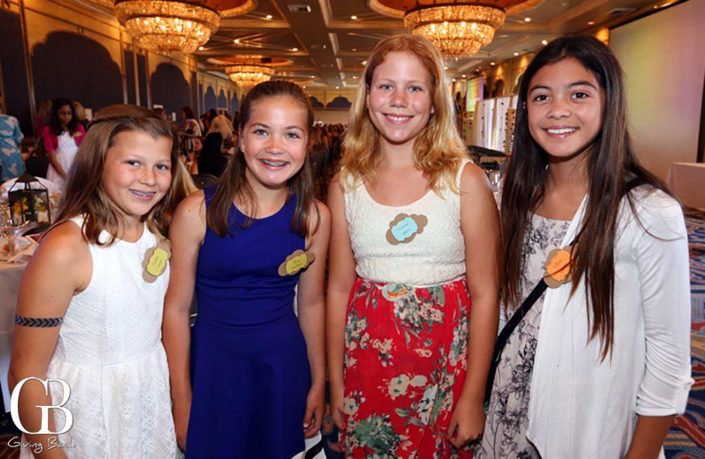 Sophia Ryan  Shaye Wattson  Vivienne Yerkes and Olivia Greene