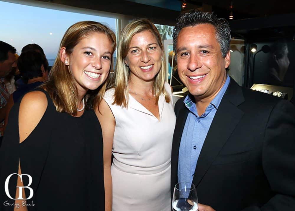 Sophia  Julie and David Gamboa