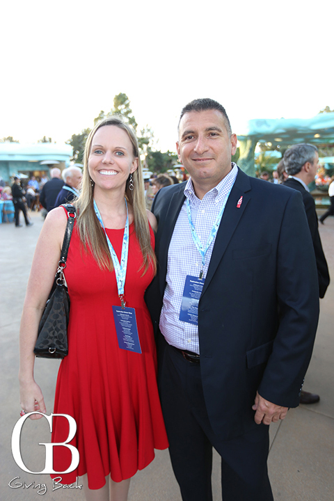 Staci Plikaytis and Mike Pasqua