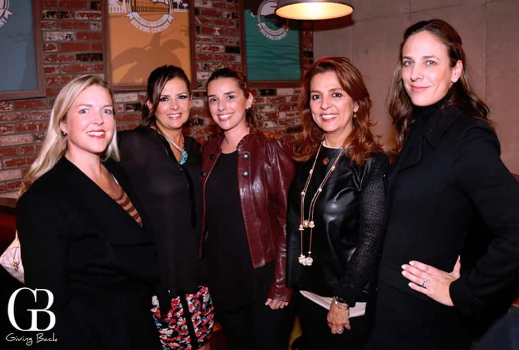 Stefanie Corona  Martha Oviedo  Yvonne Martinez  Myriam Mamou y Alejandra Mier y Teran