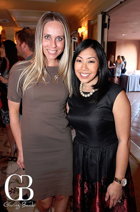 Stephanie Brown and Cheryl Haritatos