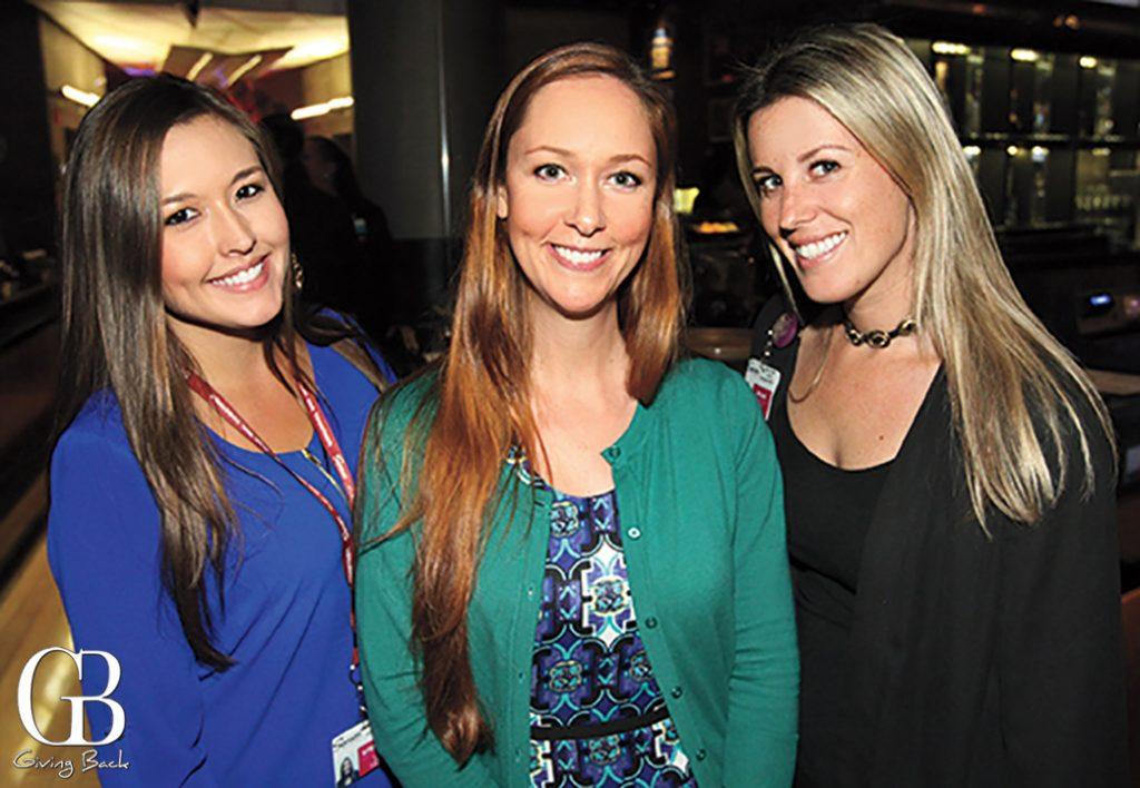 Stephanie Lacsa  Lindy Cabot and Megan Rangel