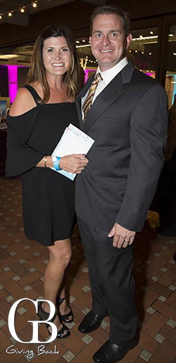 Stephanie and Brett Slaughter