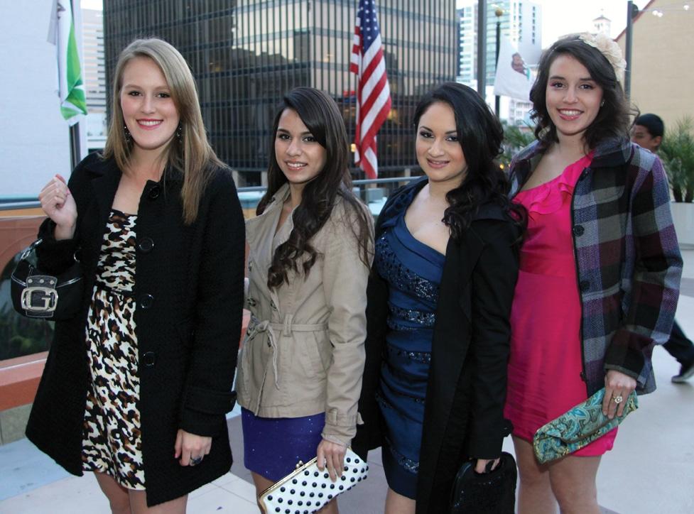 Stephany Ramirez, Lisa Ramirez,  Claudia Carrillo and Natasha Ramirez.JPG