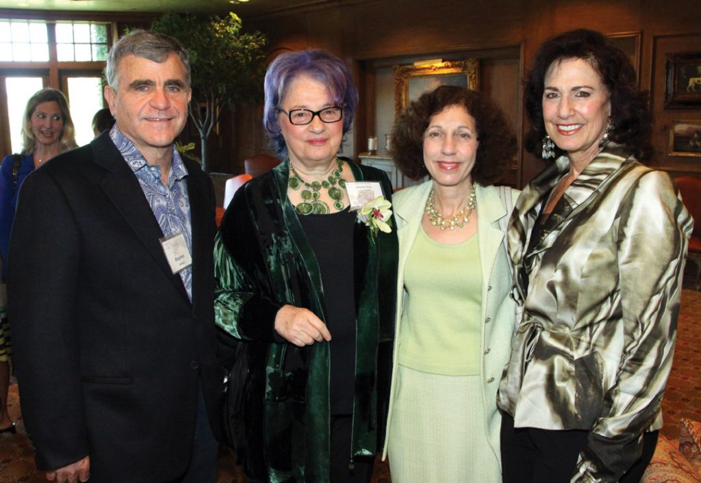 Stephen and Susan Schutz with Barbara Bry and Gayle Tolber.JPG