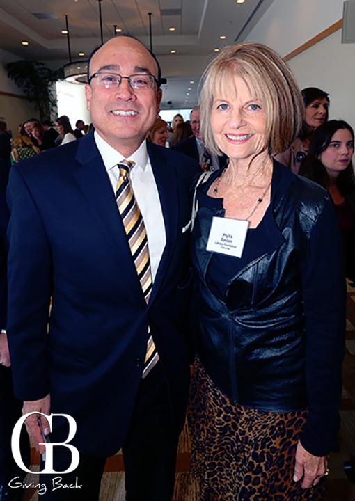 Stephen Baker and Phyllis Epstein