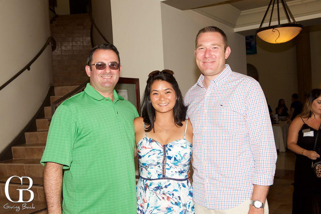 Stephen Kelly  Tiana Kelly and Todd Black