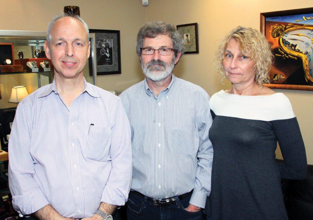 Steve Fischer with Dan and Karen Kincade.JPG