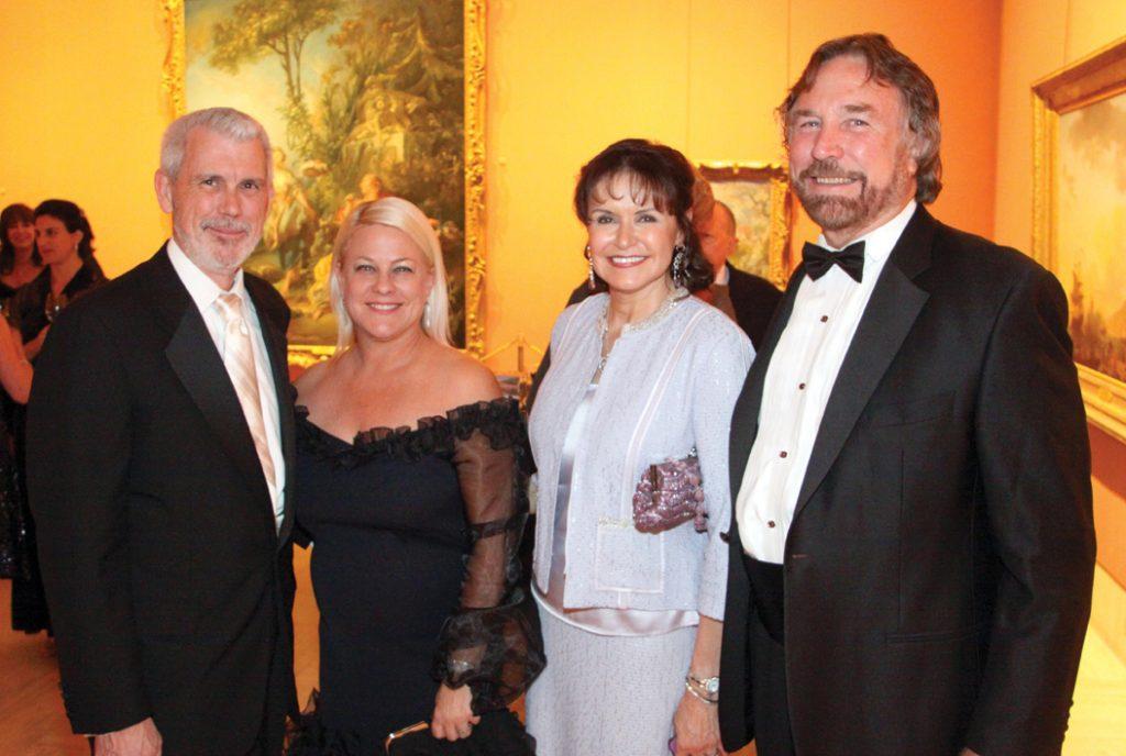 Steve McDonald and Courtney Coyle with Arlene and Richard Esgate.JPG