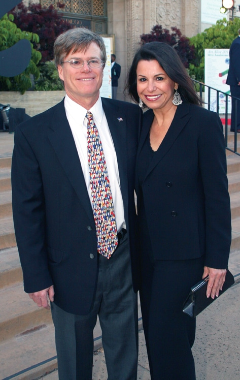 Steve Thornton and Denise Lara.JPG