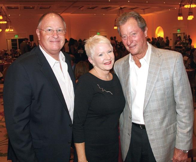 Steve and Doreann Gibson with Jim Slaughter.JPG