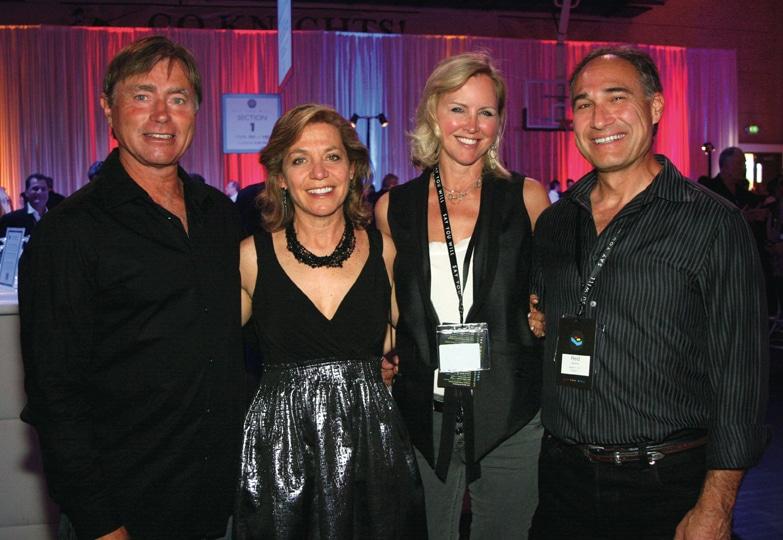 Steve and Shelley Lizanich with Micki Olin and Reid Abrams.JPG