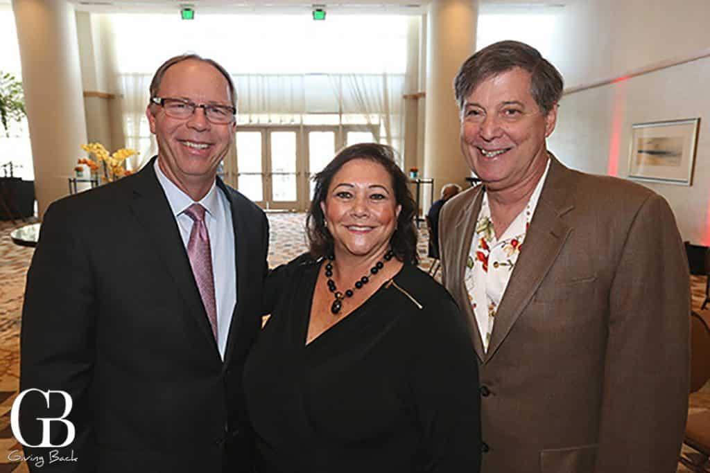 Steve Bonker with Marla and Larry Black