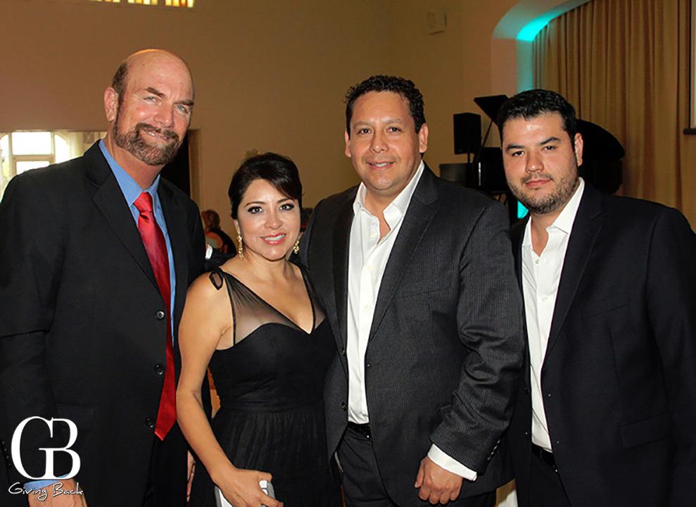 Steve Haskins  Yolanda de Riquer  Luis Teen and Alfonso Morin
