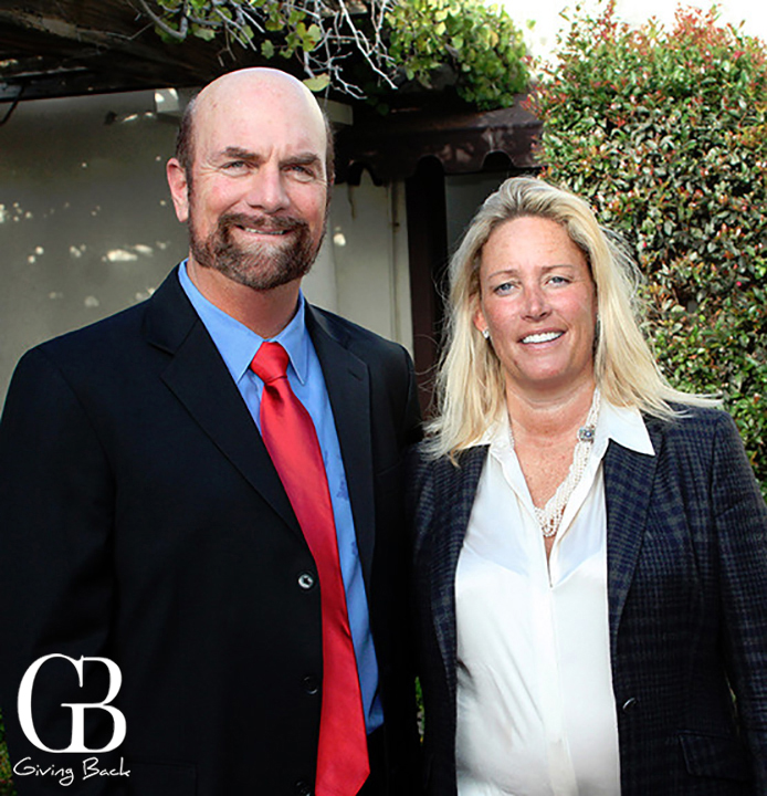 Steve Haskins and Cindy Greatrex