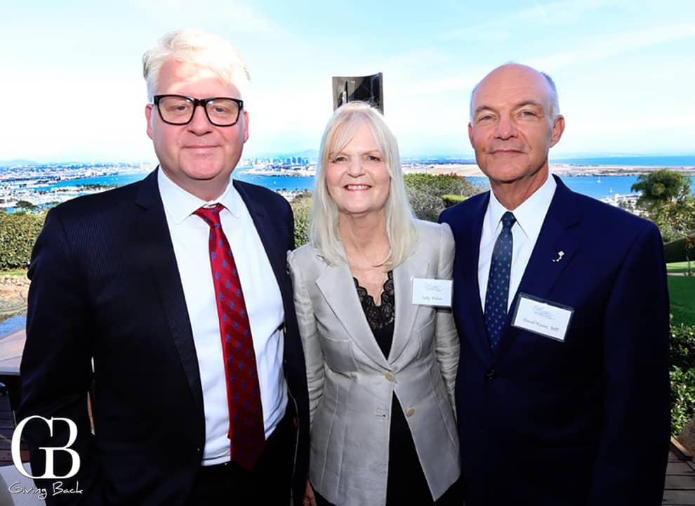 Steve Jennings  Cathy Webster and Donald Kearns