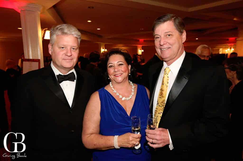 Steve Jennings with Marla and Larry Black