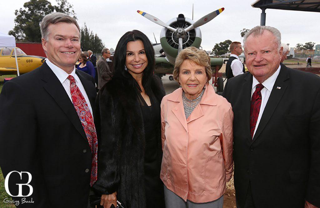 Steve Thornton  Denise Lara  Anne Evans and John Thornton