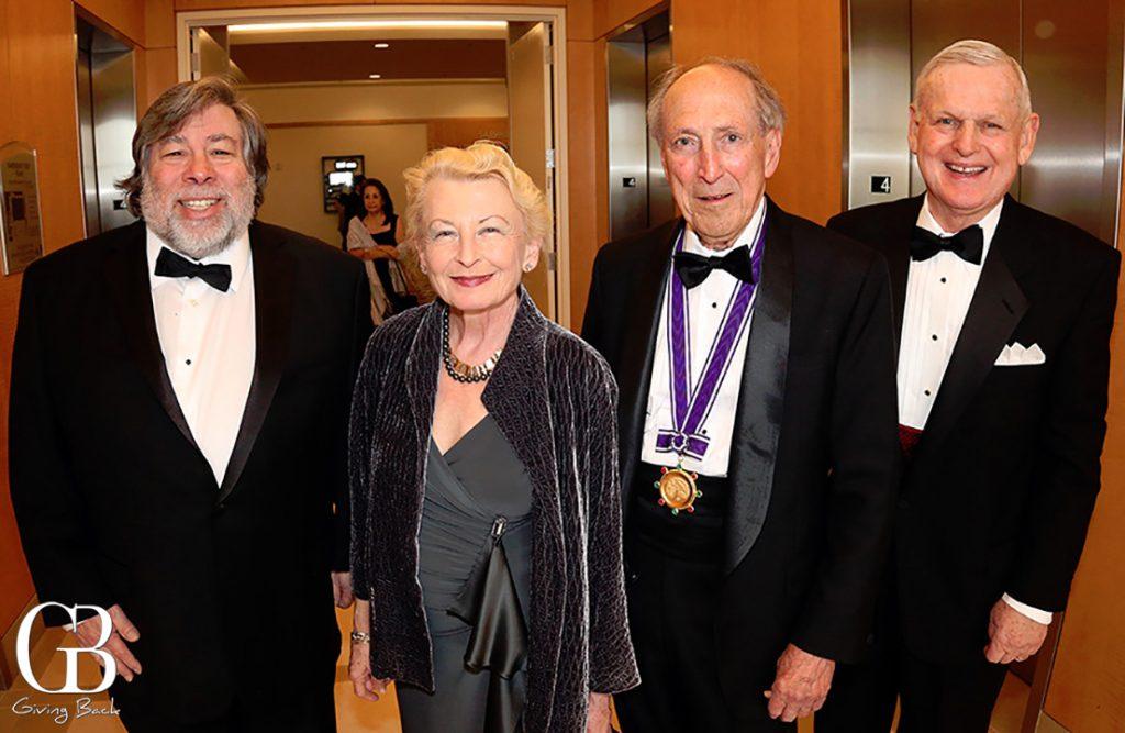 Steve Wozniak  Jane Bridges  Robert Donnard and Dick Davis