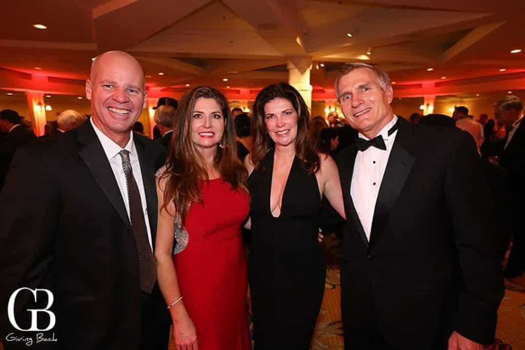 Steve and Elizabeth Estey with Deborah and Dean Wilson