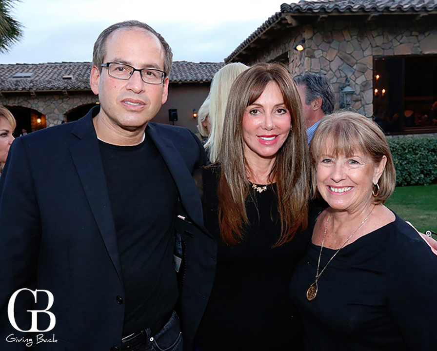 Steve and Joanne Laverson with Esther Rodriguez