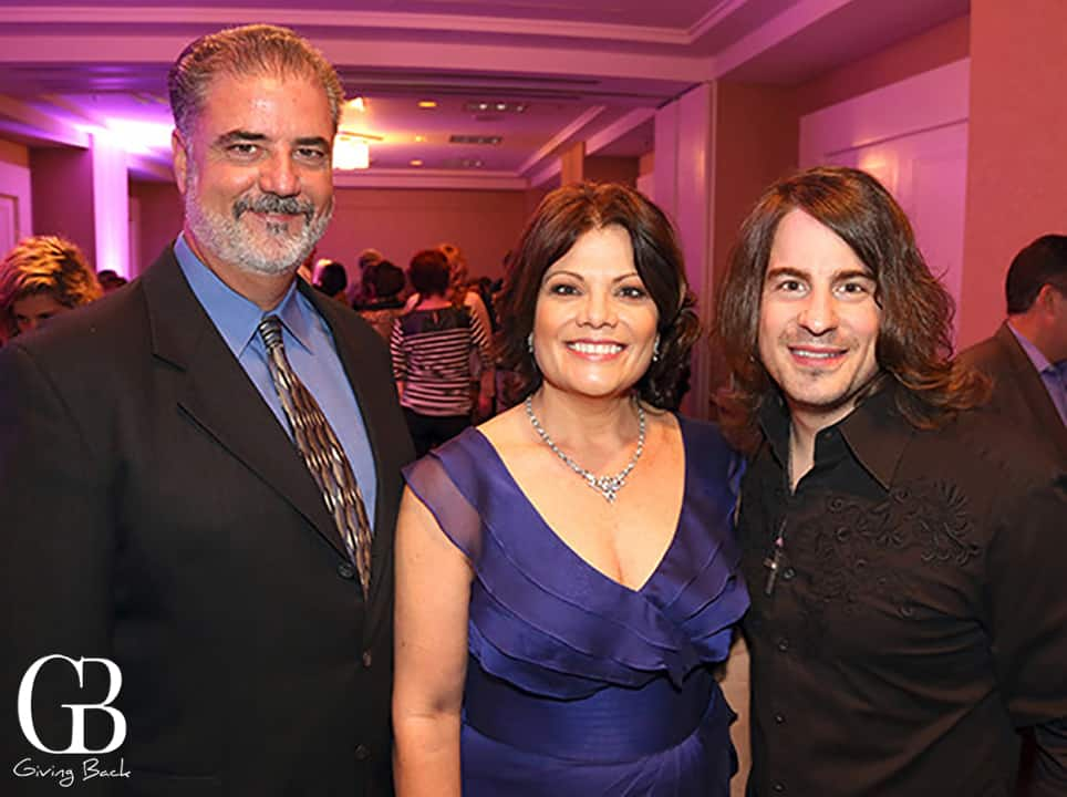 Steve and Lynne Doyle with Jimmy Wayne