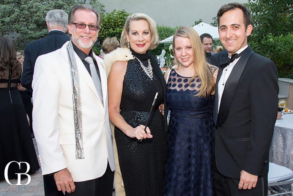 Steve and Lynne Wheeler with Britt Bonney and Tyler Kent