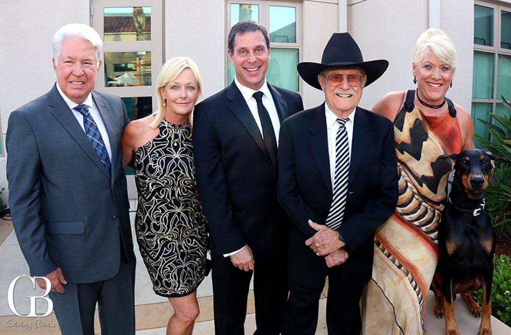 Steve and Susan Davis  Gary Weitzman  Duane Pillsbury and Joan Embery
