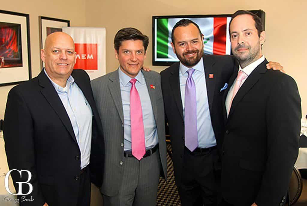 Steven Lucero  Deputy Agustin Barrios Gomez  Mario Lopez and Luis Almaraz