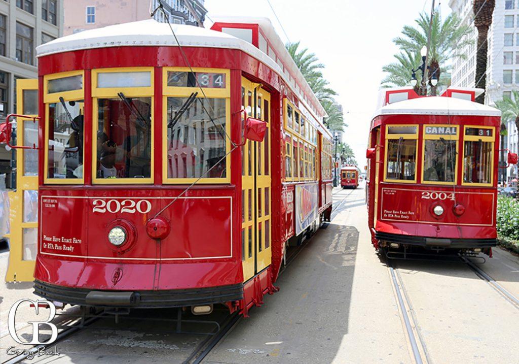 Streetcars on Canal Street