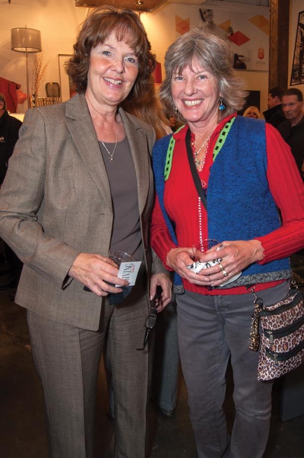 Sue Melmonte and Marlyne Kwasek
