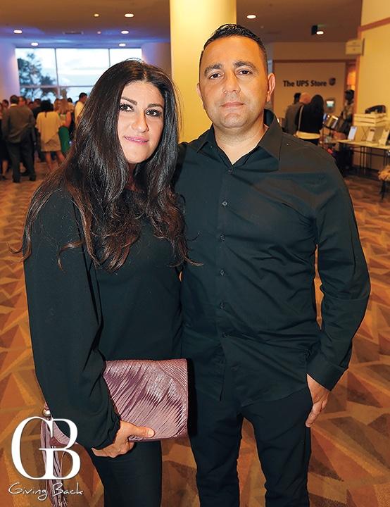 Suha Wazzi and Fred Fuad