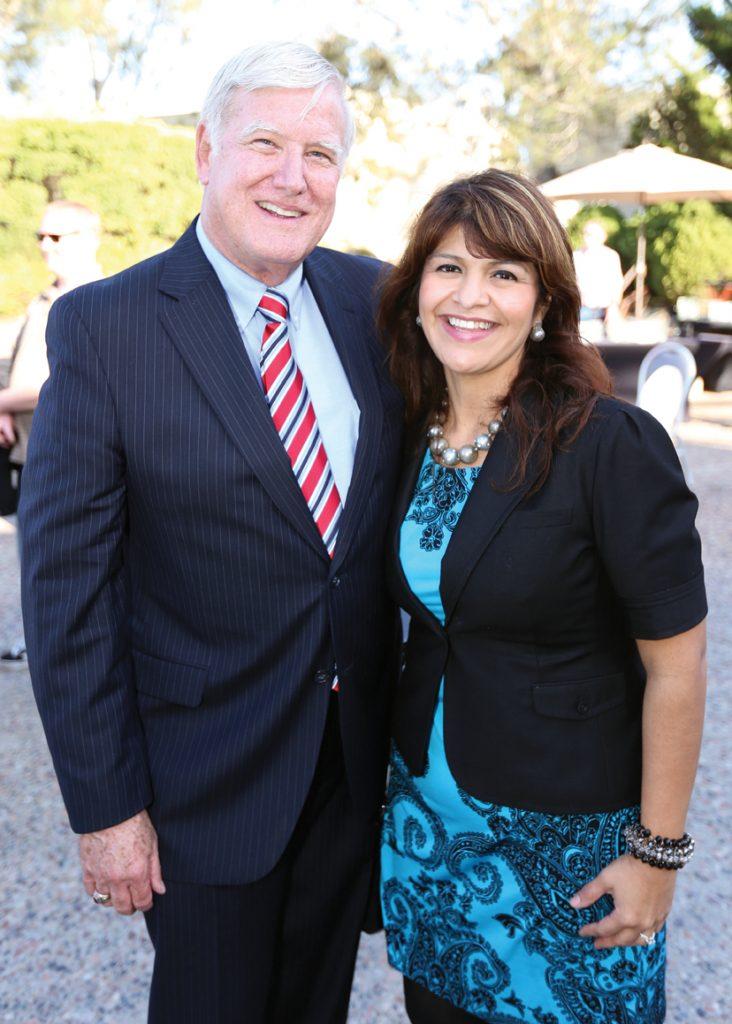 Supervisor Greg Cox and Ana Melgoza.JPG