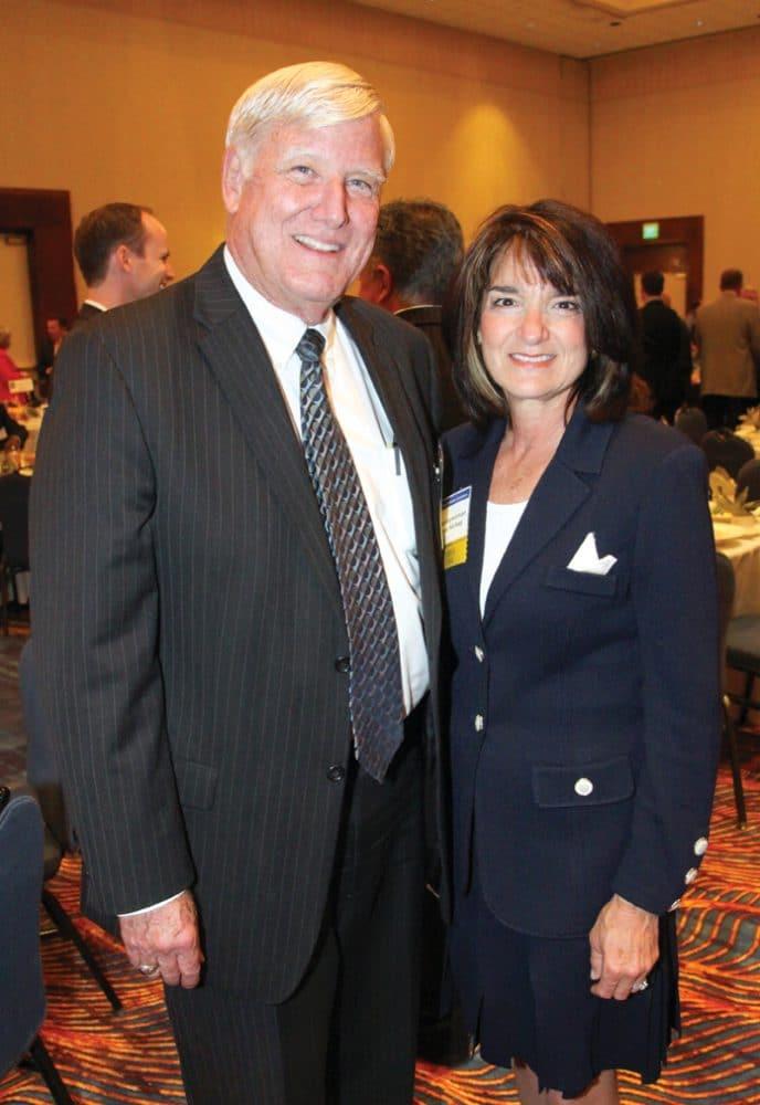 Supervisor Greg Cox and Assemblywoman Diane Harkey +.JPG