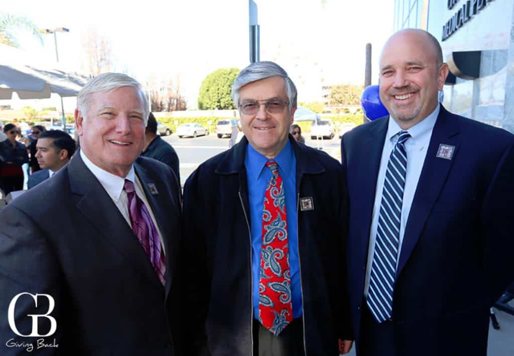 Supervisor Greg Cox  Jerry Rindone and Kevin Mattson