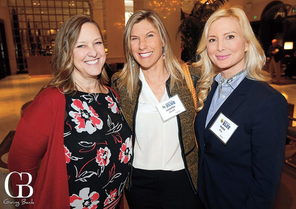 Susan Fuller  Jennifer Pennell and Helen Ghio