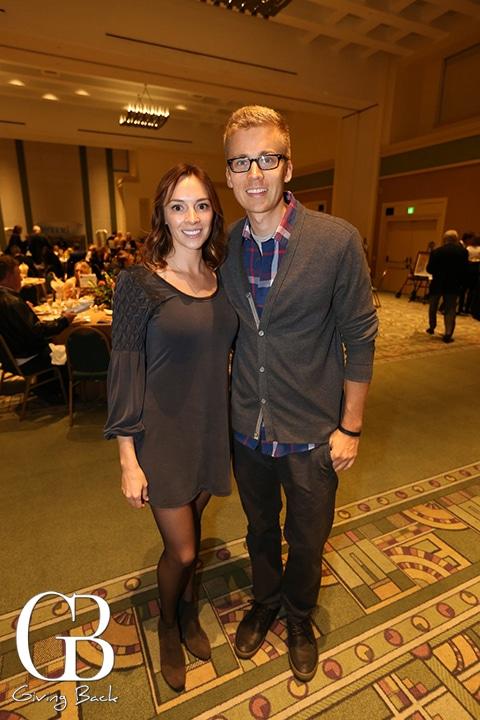 Susan Gherig and Patrick Savaiano