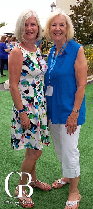 Susan Guidry and Connie Chriss