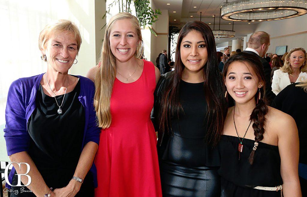Susan Nordenger  Krista Frakes  Jasmine Burni and Corinne Wong