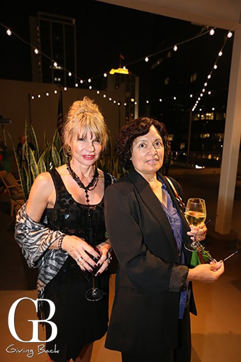 Susan St. Leger and Alison Price
