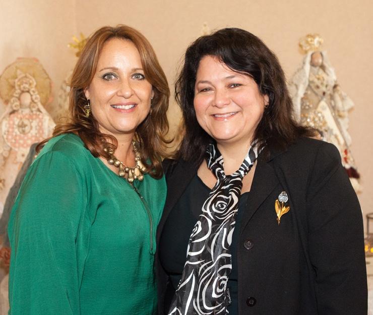 Susana Honold y Theresa Tizando