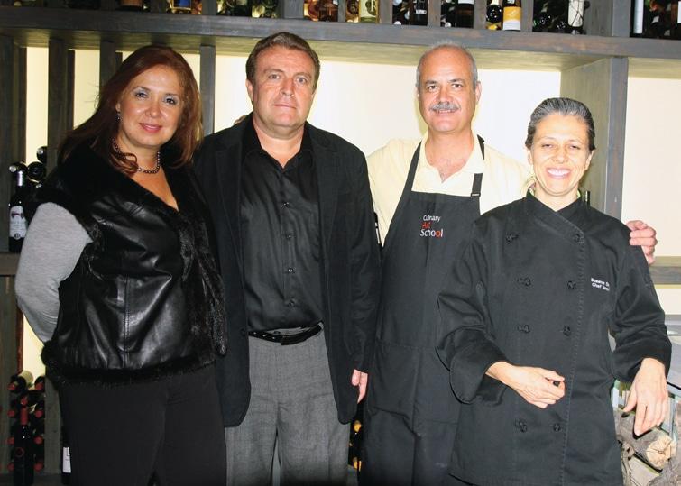 Susana Sierra, Luis Miguel Auso, Fernando Ruiz y Maribel Moreno