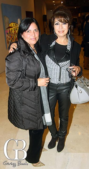 Susana Gonzalez y Marcela Fematt
