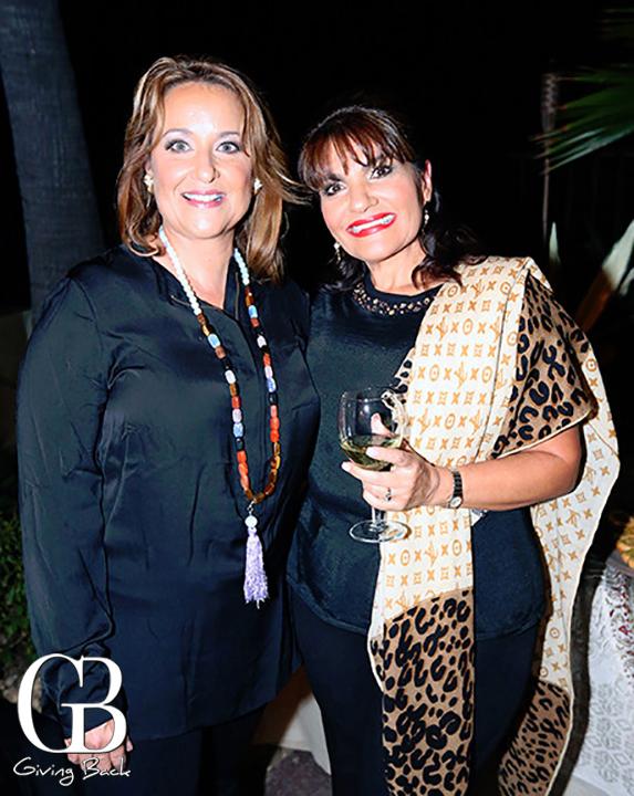 Susana Honold y Marisa Sadeghi