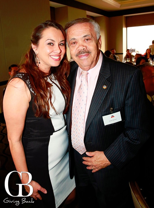 Susana Serrano and Jesse Navarro