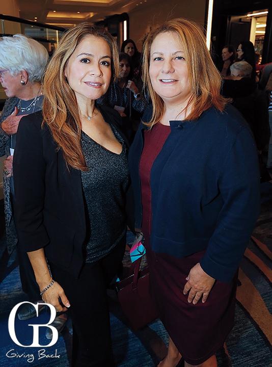 Susana Villegas and Ingrid De Llamas