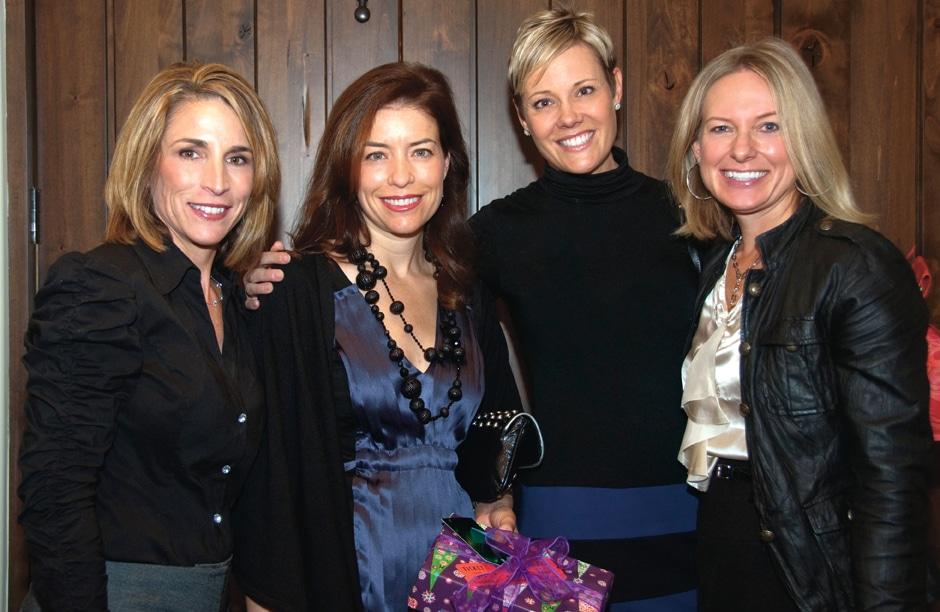 Susie Mikolajewski, Holly Bauer, Lisa Morris and Lisa Allen