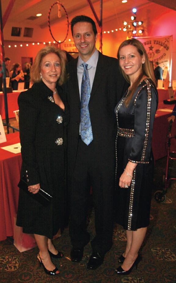 Susie Spanos with Dimitri and Cary Economou.JPG