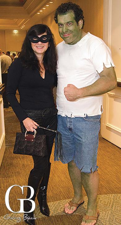 Susie Pessutti and Brett Goldstock