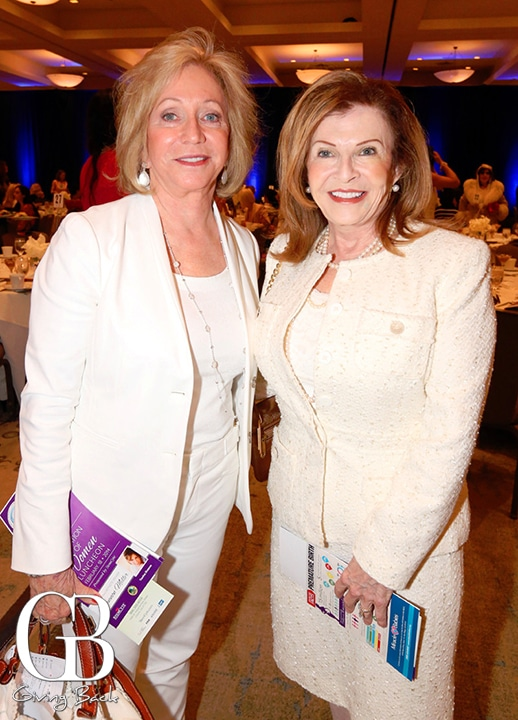 Susie Spanos and Linda Masters